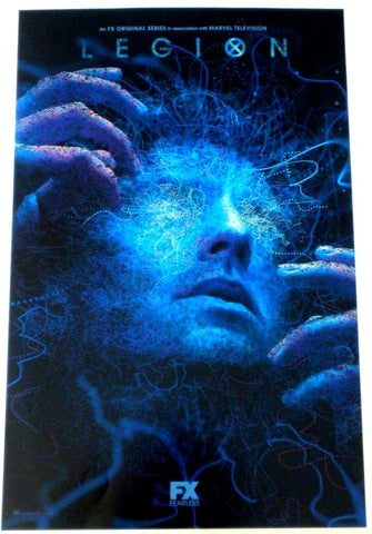 "LEGION SDCC 2018 Exclusive 11""x17"" Promo Poster FOX FX TV Marvel X-Men"