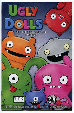 Ugly Dolls SDCC 2018 Exclusive One Shot Comic Book