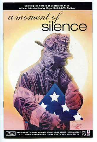 A MOMENT OF SILENCE 9/11 September 11th Tribute Comic Book #1 One Shot