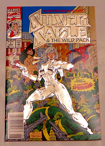 Silver Sable and The Wild Pack Vol.1 #1 1992 Marvel Comics