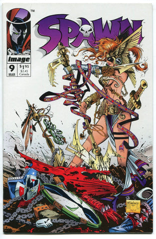 Spawn #9 1st Appearance & Origin of Angela NM Image Comics Todd Mcfarlane - redrum comics