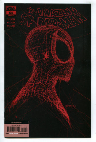 Amazing Spider-Man #55 Patrick Gleason 2nd Print Near Mint NM Marvel 2021