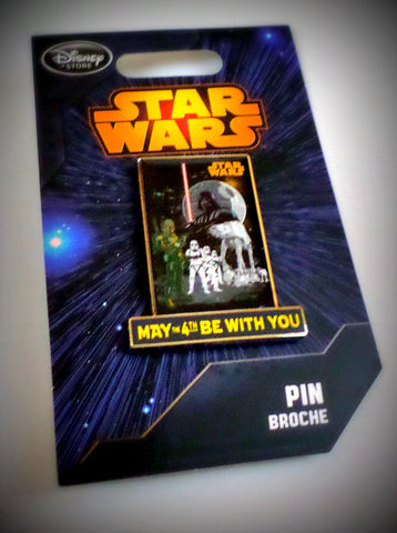Star Wars Disney 2015 May the 4th Be With You Limited Edition Exclusive Pin