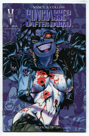 Sunglasses After Dark #5 VF 1996 Verotik Comics Nancy A Collins Glenn Danzig