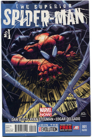 The Superior Spider-Man #1 Second Print Variant Marvel Comics Doctor Octopus - redrum comics