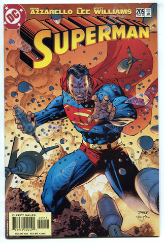 Superman #205 Jim Lee Cover and Art VF/NM DC Comics 2004