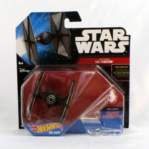 Disney Hot Wheels Star Wars Force Awakens Starship First Order TIE Fighter