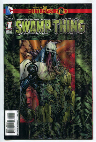 Swamp Thing #1 One Shot 3D Lenticular Cover DC Comics Futures End New 52