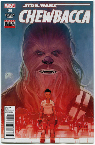 Chewbacca (2015 Marvel) Star Wars #1A NM 1st Print Force Awakens - redrum comics