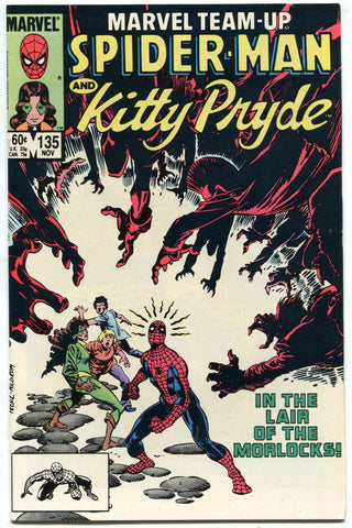 Marvel Team-Up #135 Kitty Pryde and Spider-Man VS Morlocks NM 1983 - redrum comics