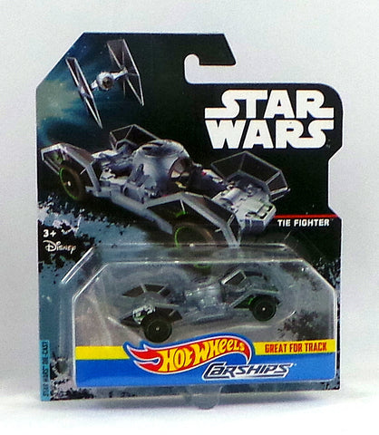 Disney Hot Wheels Die-Cast Star Wars Carships Rogue One Tie Fighter Diecast Car