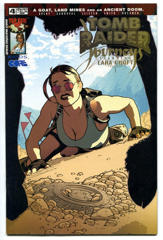 Tomb Raider Journeys #4 Adam Hughes Cover Sexy Pin-up VF Image Comics
