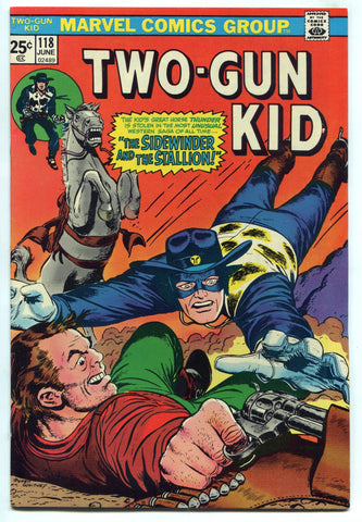 Two Gun Kid #118 F+ High Grade 1974 Bronze Age Western Marvel Comics