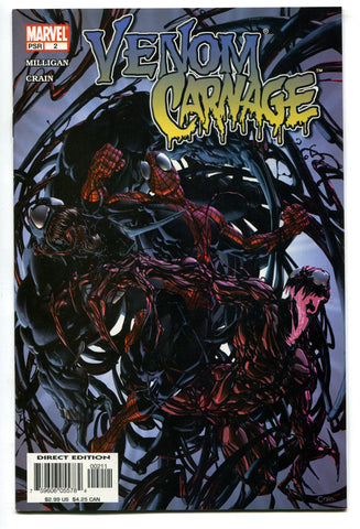 Venom Carnage #2 VF High Grade 1st Appearance of Toxin 2004 Marvel Comics