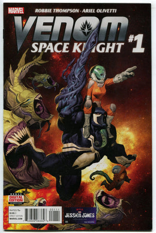 Venom Space Knight #1 Regular Cover Marvel Comics 2015 Guardians of the Galaxy