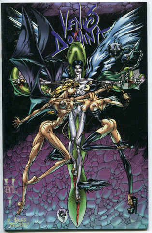 Venus Domina #3 Verotik Comics Venus VS Igrat Glenn Danzig Duke Mighten 1997