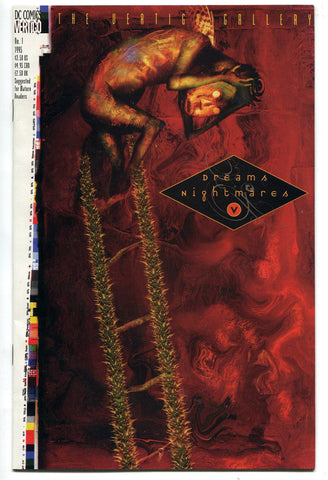 The Vertigo Gallery Dreams and Nightmares #1 1995 DC NM early Dillon Preacher! - redrum comics