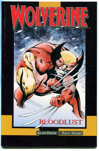 Wolverine Bloodlust Marvel Graphic Novel NM Alan Davis Berserker Logan X-Men - redrum comics
