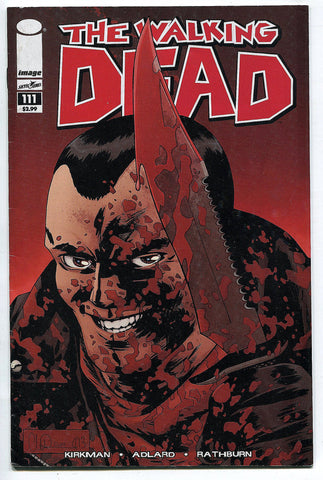 Walking Dead Comic Book #111 Fine Death of Spencer AMC TV Negan Cover