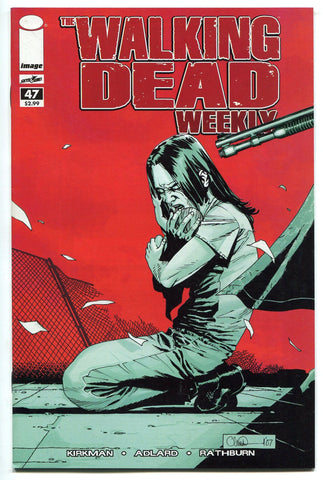 Walking Dead Weekly Comic Book #47 NM AMC TV