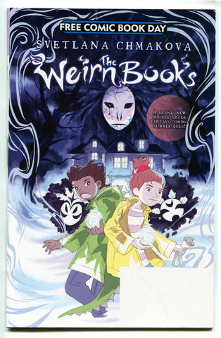 The Weirn Books 1 free comic book day issue FCBD 2020 Svetlana Chmakova