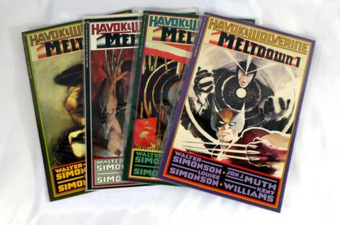 Havok & Wolverine: Meltdown (1989) #'s 1, 2, 3, 4 Simonson VF/NM Set X-Men - redrum comics