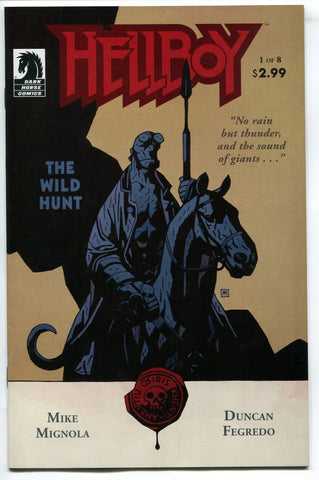Hellboy The Wild Hunt #1 Mike Mignola Dark Horse Comics