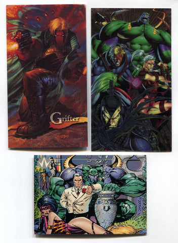 Wildcats by Jim Lee Promo card lot of 3
