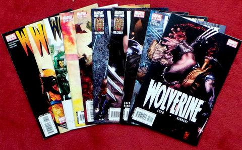 Wolverine #52 53 54 55 56 57 58 59 60 61 Ten Issue Lot
