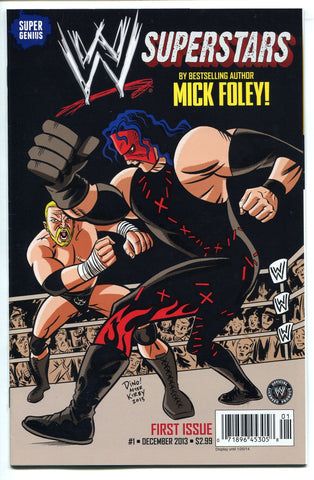WWE Superstars Issue #1 Comic by Super Genius Triple H Written by Mick Foley!