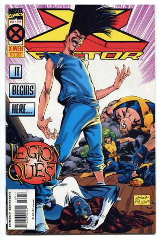 X Factor #109 NM Legion Quest David Haller Mystique X-Men FX TV - redrum comics
