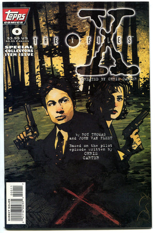 The X-Files #0 Topps Comics