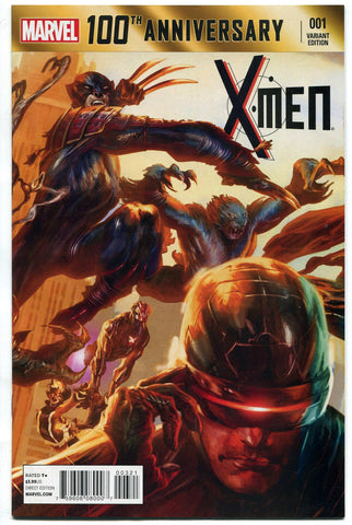 Marvel Comics 100th Anniversary Special #1 X-Men Variant Comic Book