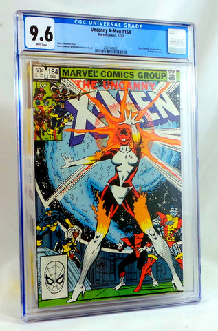 Uncanny X-Men 164 CGC 9.6 NM+ Carol Danvers 1st Appearance Binary Captain Marvel