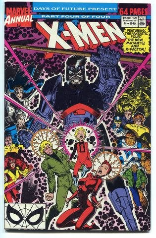 X-Men Annual #14 1990 NM X Men 1st Gambit cameo appearance Art Adams