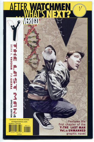 Y The Last Man #1 DC Vertigo NM What's Next Reprint Special Edition - redrum comics