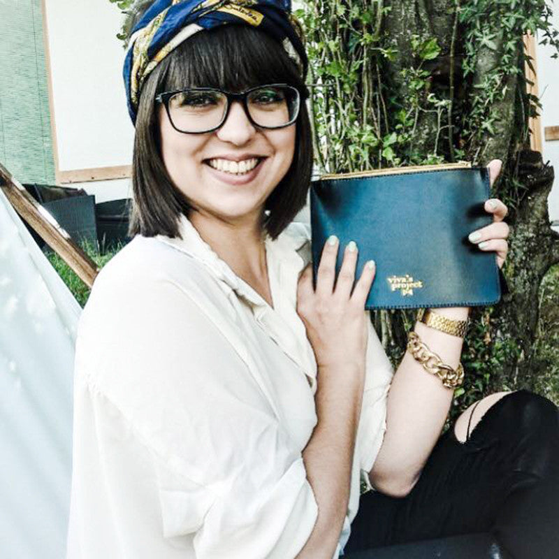 Hana Karim wears Viva's Mini Bag