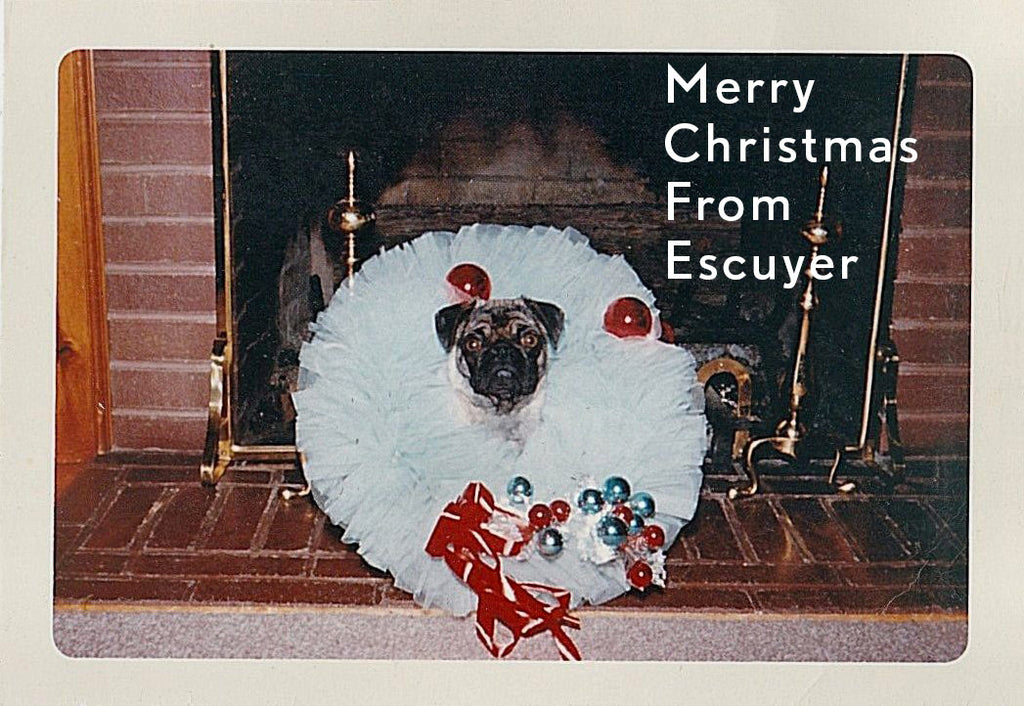 Merry Christmas from Escuyer