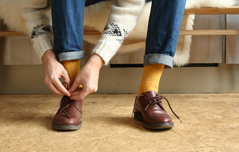 Cashmere socks Escuyer