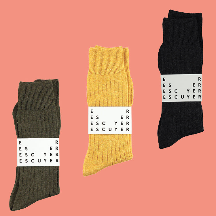 Cashmere Socks, Escuyer