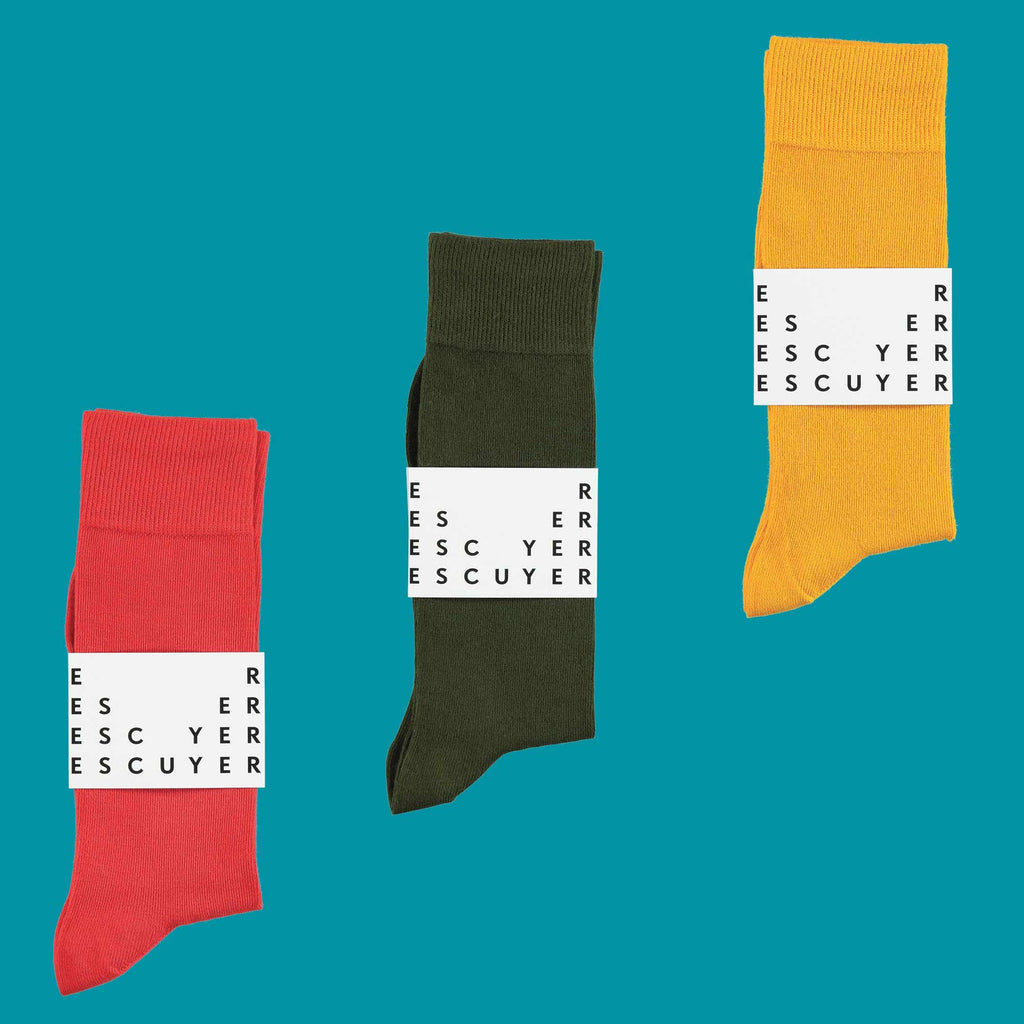 Escuyer casual Colour Cotton socks
