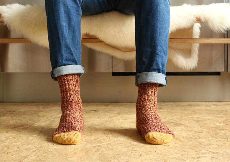 Winter socks menswear - Escuyer