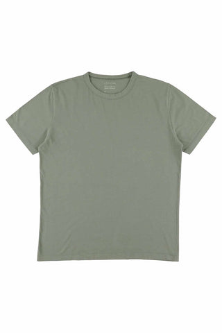 Crew Neck T-Shirt - Agave Green