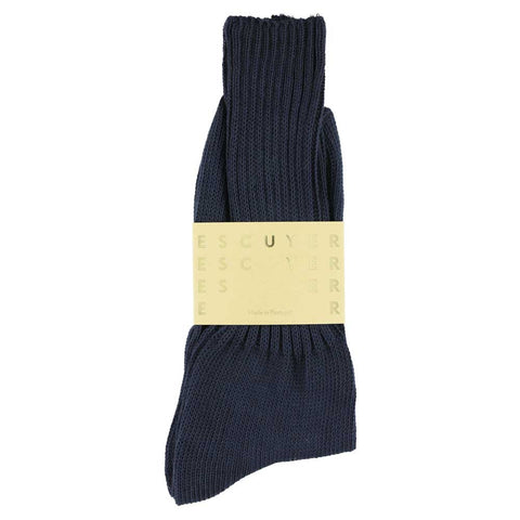 Crew Socks - Navy