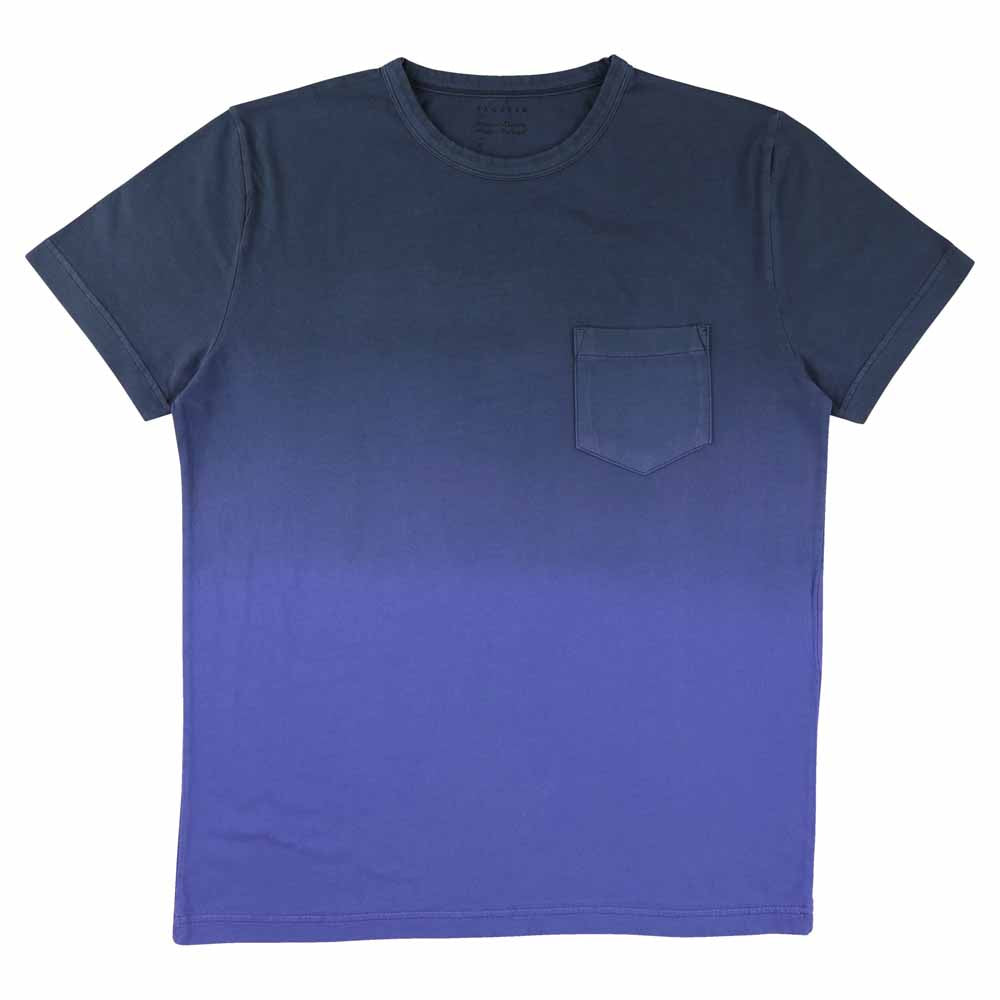 Dégradé Pocket T-Shirt - Blue