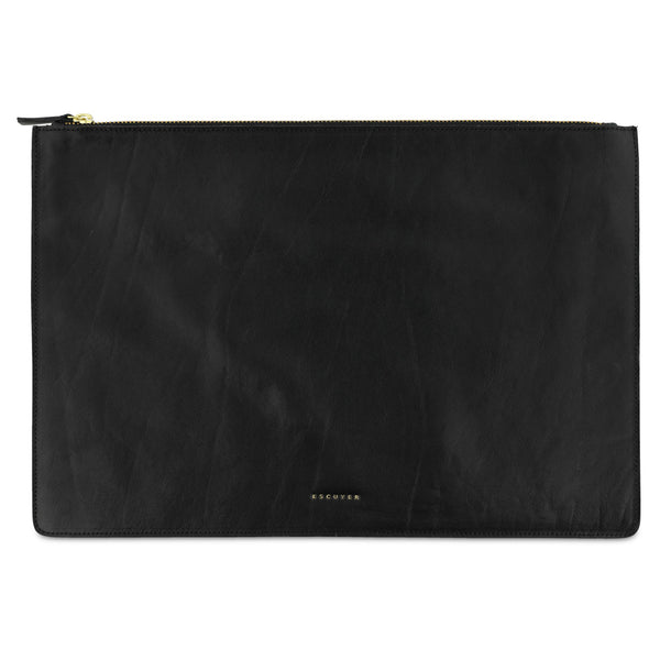 Leather Pouch / Black - Escuyer