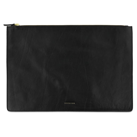 Leather Pouch / Black