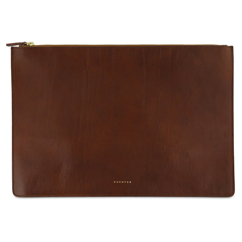 Leather Pouch / Light Brown