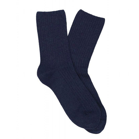 Cashmere Socks Women - Blue