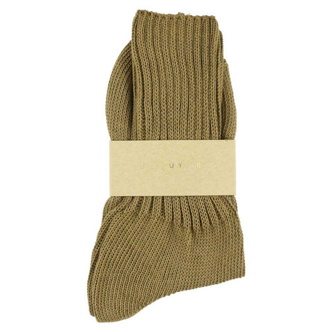 Women Crew Socks - Olive